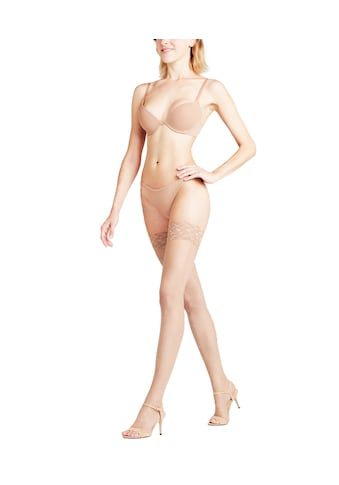 FALKE Halterlose Strümpfe »Shelina Toeless«, (1 Paar), zehenfrei & mit schmaler Zierspitze kaufen