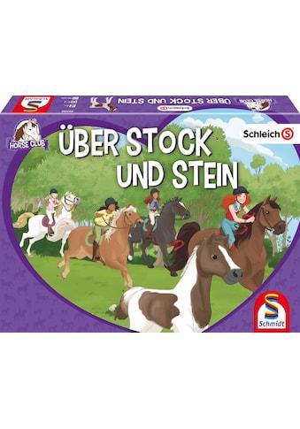 Schmidt Spiele Spiel »Schleich® Horse Club - Über Stock und Stein«, Made in Germany kaufen