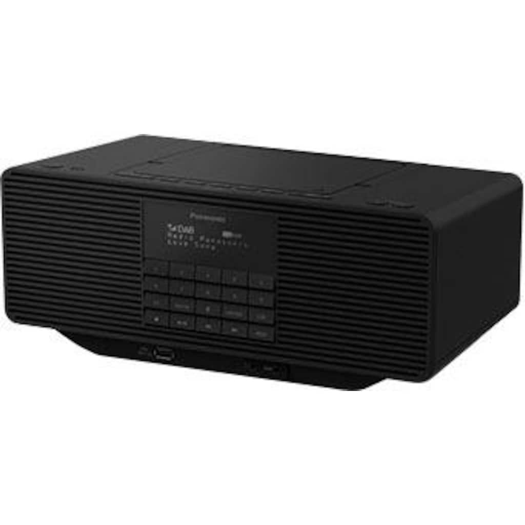 Panasonic Radio »RX-D70BTEG-K«, ( Digitalradio (DAB+)-FM-Tuner ), mit CD