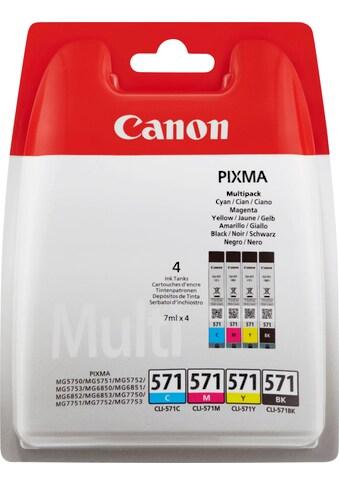 Canon »Canon CLI - 571 Tintenpatronen Multipack« Tintenpatrone kaufen