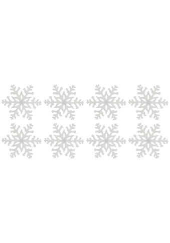 Dekostern »Eiskristall«, Fensterdekoration kaufen