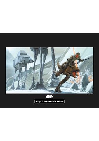Komar Poster »Star Wars Classic RMQ Hoth Battle Ground«, Star Wars kaufen