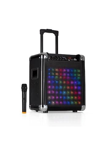 """Auna LED PA-Anlage 8"""" Woofer 100 W max VHF-Mikro USB »FS-801L« kaufen"""