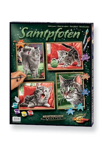 """Schipper Malen nach Zahlen """"Quattro  -  Samtpfoten"""" kaufen"""