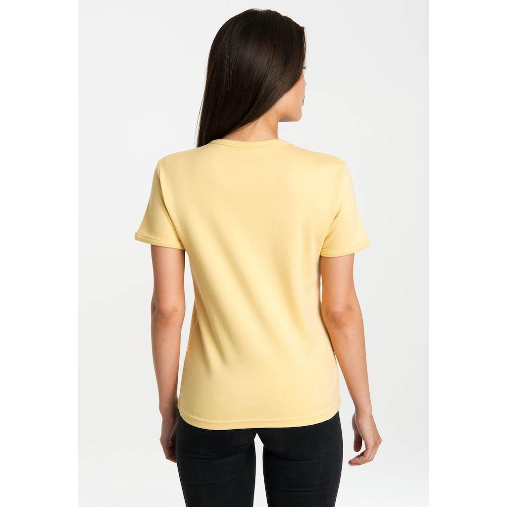 LOGOSHIRT T-Shirt »Lucky Luke Showdown«, mit lizenziertem Originaldesign