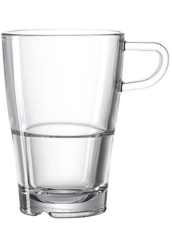 LEONARDO Latte-Macchiato-Glas »SENSO«, (Set, 6 tlg.), Hitzebeständig und widerstandsfähig kaufen