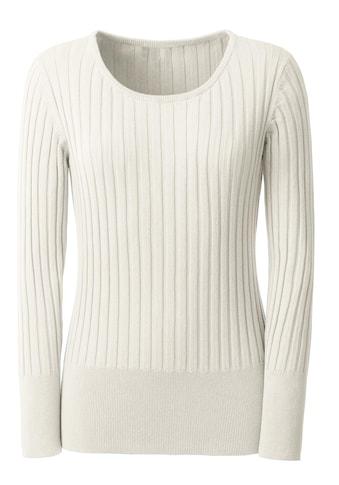 Casual Looks Pullover mit weitem Ausschnitt kaufen