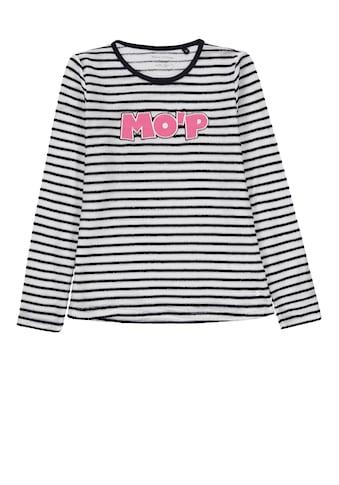 Marc O'Polo Junior Langarmshirt mit Logo Print kaufen