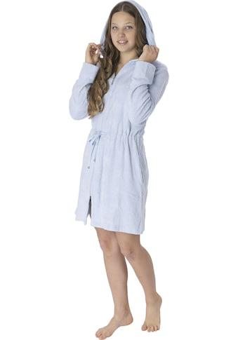 Wewo fashion Damenbademantel »6025«, mit Tunnelzug zum Binden kaufen