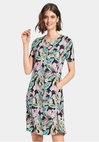 Looxent Jerseykleid »Jerseykleid mit 1/2-Arm«, mit Reißverschluss-Ausschnitt kaufen
