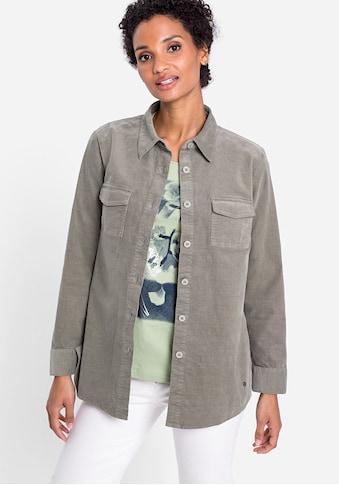 Olsen Hemdbluse, aus Cord kaufen