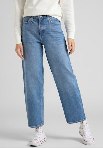 Lee® Weite Jeans »Wide Leg«, mit Bleich- und Moustaching-Effekt kaufen