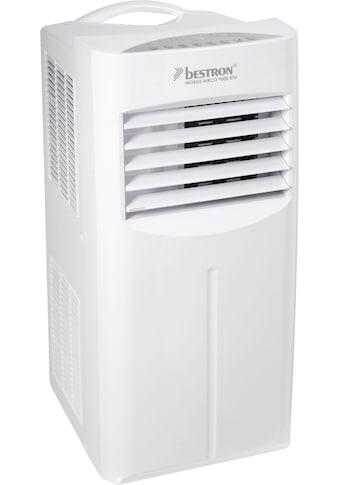 bestron Klimagerät »mobiles Gerät«, für Räume bis 36m², Kühlleistung 2,6 kW mit umweltfreundlichem Kühlmittel, 9.000BTU/h, Farbe: weiß kaufen
