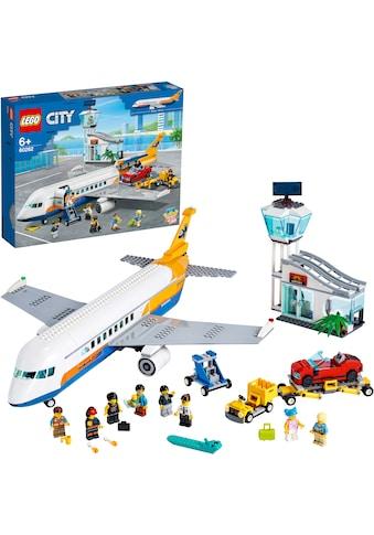 "LEGO® Konstruktionsspielsteine ""Passagierflugzeug (60262), LEGO® City"", Kunststoff, (669 - tlg.) kaufen"