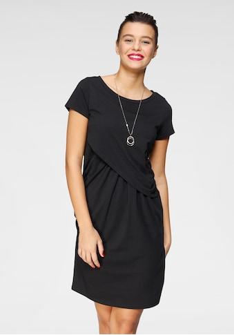 AJC Shirtkleid, in trendiger Wickeloptik mit raffinierten Raffungen kaufen