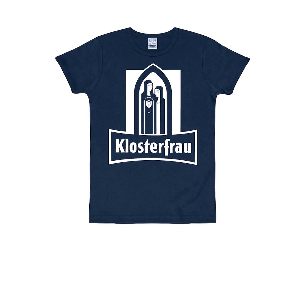 LOGOSHIRT T-Shirt, mit Klosterfrau-Print