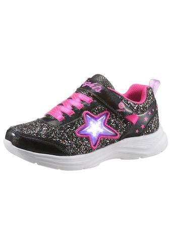 Skechers Kids Sneaker »Blinkschuh GLIMMER KICKS STARLET SHINE«, mit cooler Blinkfunktion kaufen