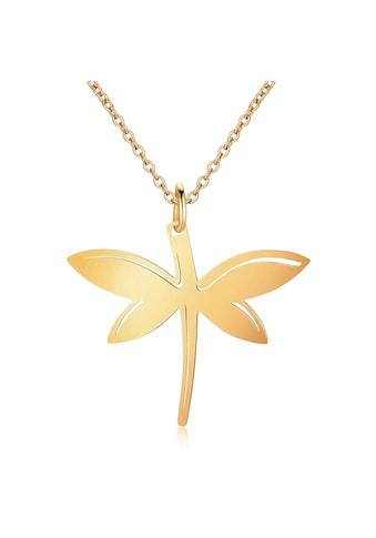 AILORIA Kette mit Anhänger »LIBELLULE Halskette aus Edelstahl + Libellen-Anhänger«, Hochglanz-Finish kaufen