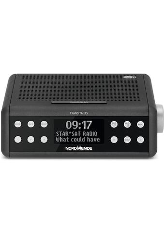 Nordmende DAB+/UKW-Uhrenradio, Snooze Funktion, Sleeptimer, Digitalradio kaufen