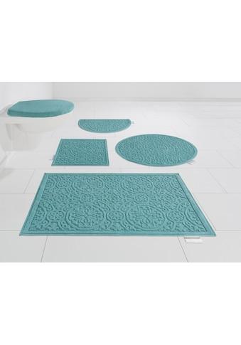 Guido Maria Kretschmer Home&Living Badematte »Garden Pastels«, Höhe 3 mm, fußbodenheizungsgeeignet, Pastell kaufen
