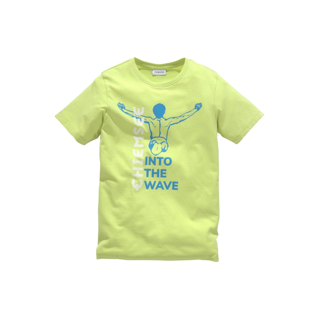 Chiemsee T-Shirt »INTO THE WAVE«