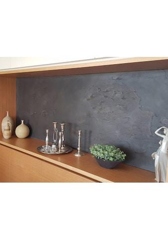 Slate Lite Dekorpaneele »Negro«, aus Echtstein kaufen