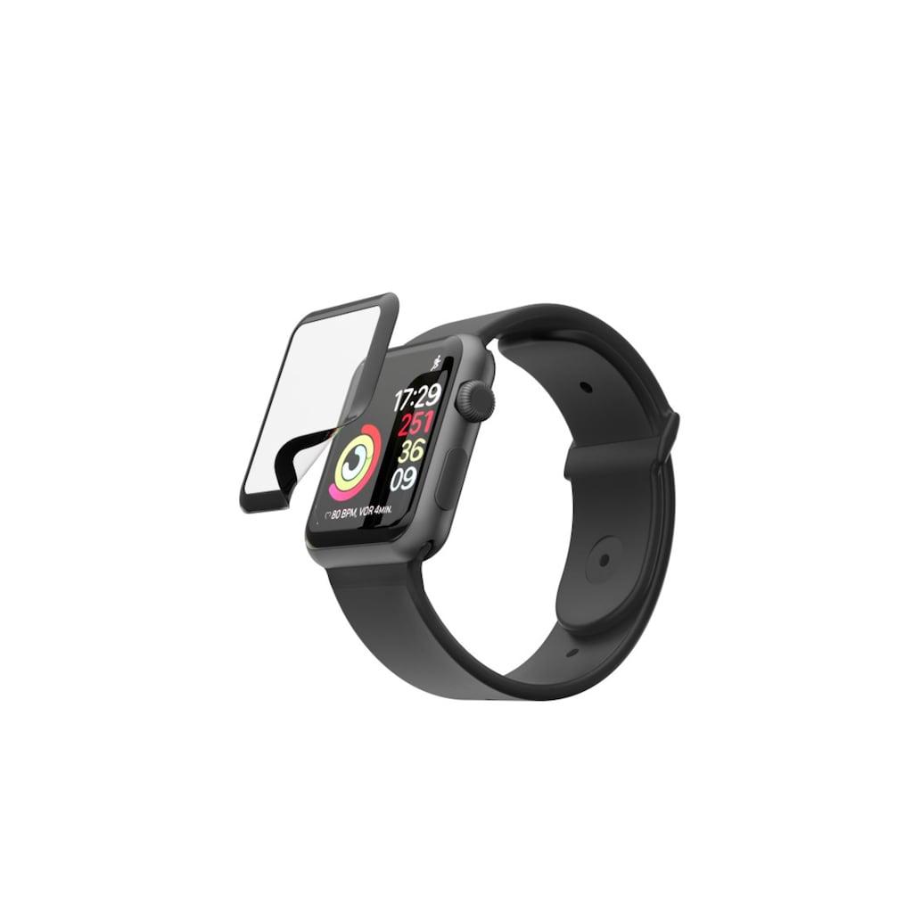 """Hama Displayschutzglas »Schutzglas, Schutzfolie«, für Apple Watch 4/5/6/SE, """"Hiflex"""" für Apple Watch 4/5/6/SE"""