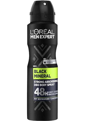 """L'ORÉAL PARIS MEN EXPERT Deo - Spray """"Black Mineral"""" kaufen"""