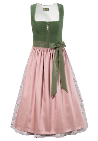 Love Nature Dirndl, (2 tlg.), midi mit Leinenmieder - Made in Austria kaufen