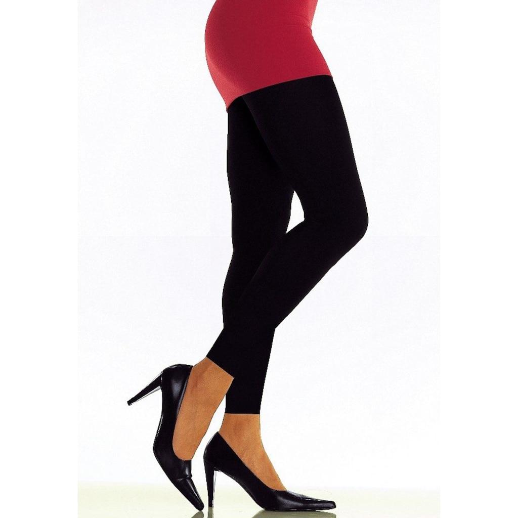 LASCANA Leggings, aus leicht glänzender Qualität