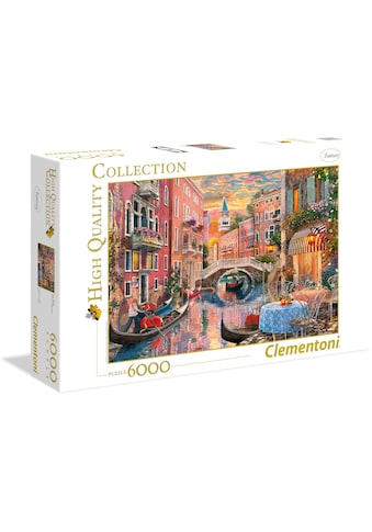 Clementoni® Puzzle »High Quality Collection - Venedig bei Sonnenuntergang«, Made in... kaufen