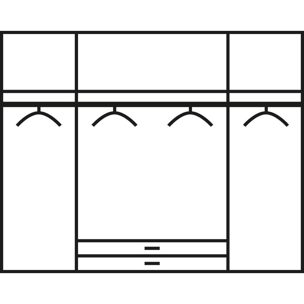 rauch ORANGE Kleiderschrank »Mainz«, mit Spiegelelementen