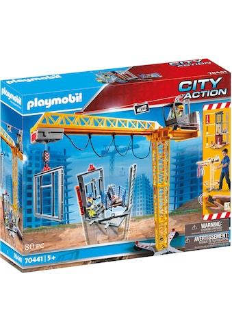 "Playmobil® Konstruktions - Spielset ""RC - Baukran mit Bauteil (70441), City Action"" kaufen"