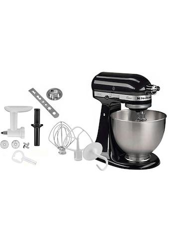 KitchenAid Küchenmaschine »Classic 5K45SS EOB«, 275 W, 4,3 l Schüssel, inkl.... kaufen