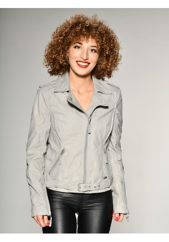 MUSTANG Lederjacke mit Hemdkragen kaufen