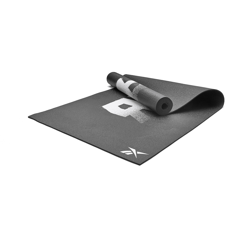 """Reebok Yogamatte »Reebok Yogamatte """"schwarz"""" - beidseitig, rutschfest«"""