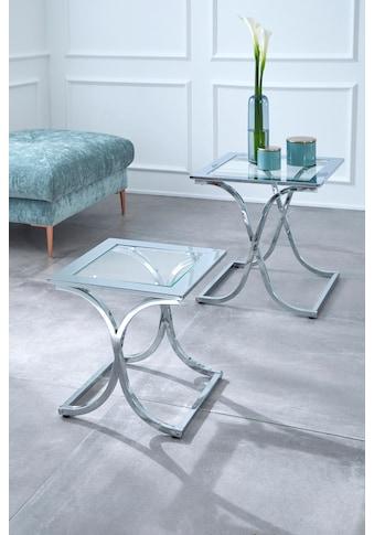 Guido Maria Kretschmer Home&Living Satztisch »Ballum«, mit edlem Metallgestell und... kaufen