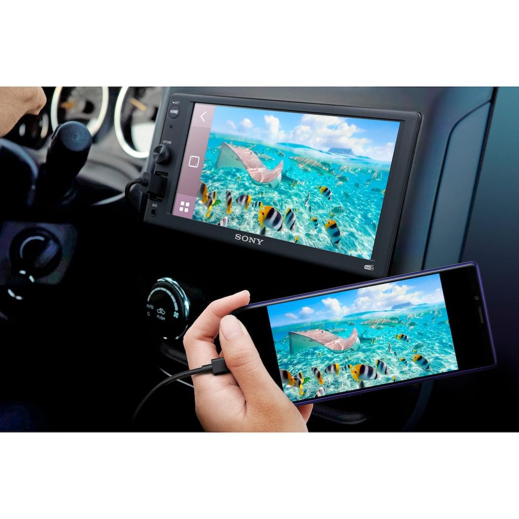 Sony Autoradio »XAV1550ANTEUR«, (A2DP Bluetooth-AVRCP Bluetooth Digitalradio (DAB+)-FM-Tuner 55 W)