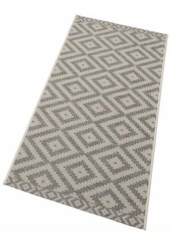 freundin Home Collection Läufer »Summer«, rechteckig, 4 mm Höhe, Flachgewebe, In- und Outdoor geeignet kaufen