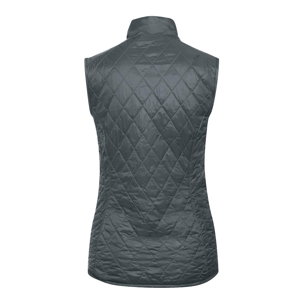 Maier Sports Steppweste »Carp Vest W«, Kuschlig warm für Herbst und Winter