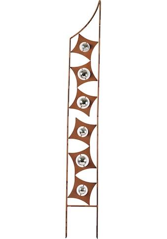 locker Deko-Windrad »Rusty Globes«, in Rostoptik, Materialmix, 150 cm hoch kaufen