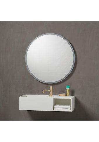 Badspiegel »Aalborg Rund«, Ø 80 cm mit LED Beleuchtung kaufen