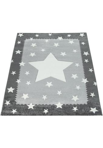 Paco Home Kinderteppich »Ela 398«, rechteckig, 17 mm Höhe, Stern Motiv,... kaufen