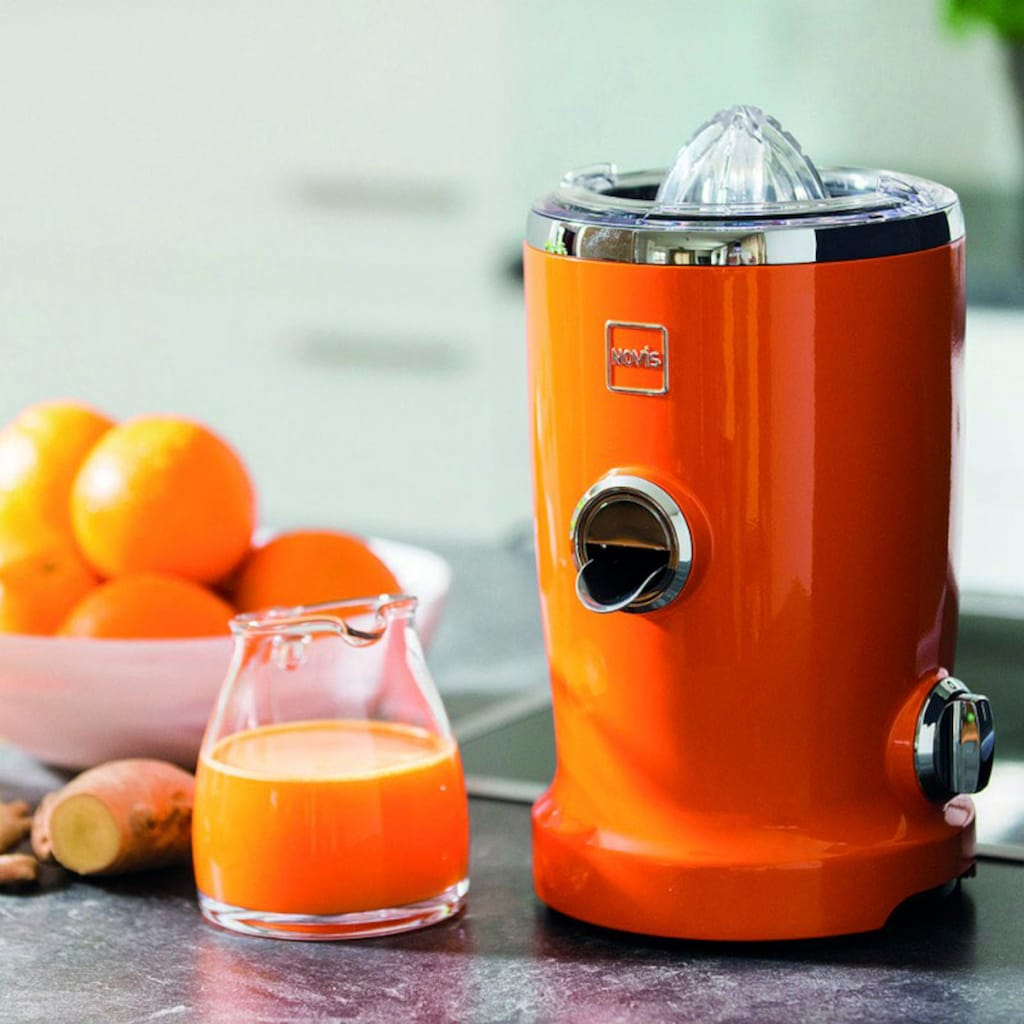 NOVIS Entsafter »VitaJuicer S1 orange«, 240 W