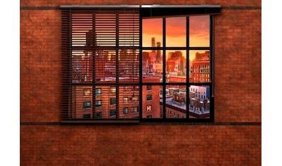 Komar Fototapete »Brooklyn Brick«, bedruckt-Stadt-Kunst, ausgezeichnet lichtbeständig kaufen