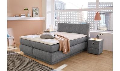 Jockenhöfer Gruppe Boxspringbett, mit Bettkasten und Kaltschaum-Topper kaufen