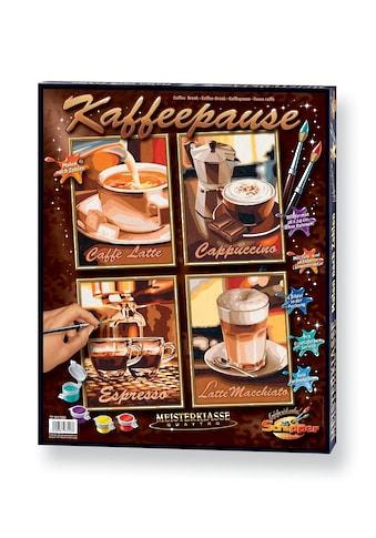 """Schipper Malen nach Zahlen """"Quattro  -  Kaffeepause"""" kaufen"""