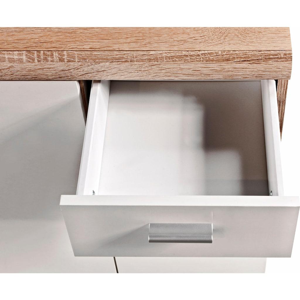 Sideboard »Sun«, Breite 90 cm mit 3 Türen und 2 Schubkästen