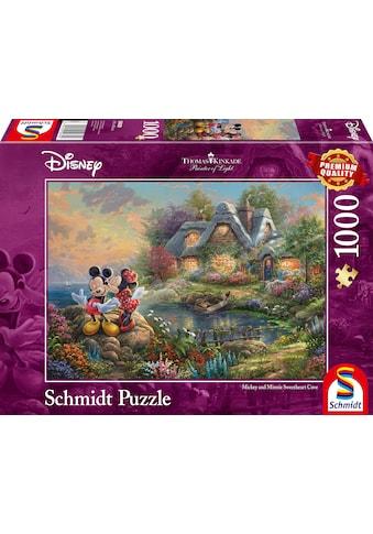Schmidt Spiele Puzzle »Disney, Sweethearts Mickey & Minnie«, Thomas Kinkade kaufen