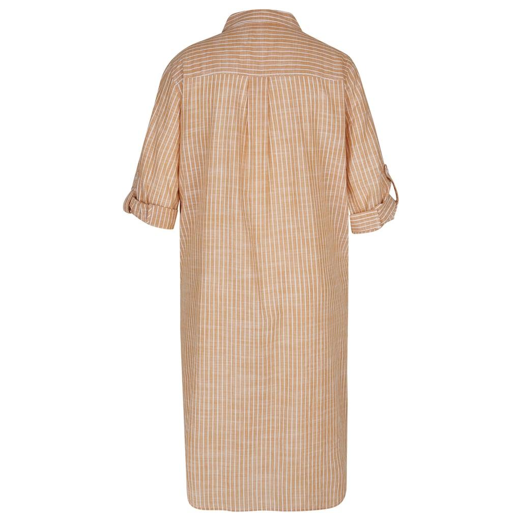 VIA APPIA DUE Hemdblusenkleid, mit gestreiftem Muster